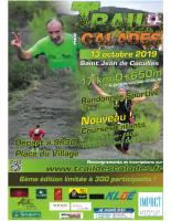 Affiche Trail Calades 2019